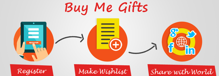 Register Today to create and share your Gift Wishlist